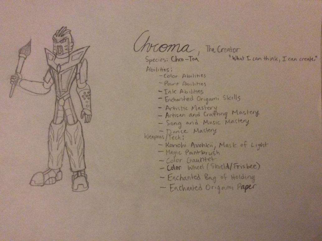 Chroma, The Creator by Color17