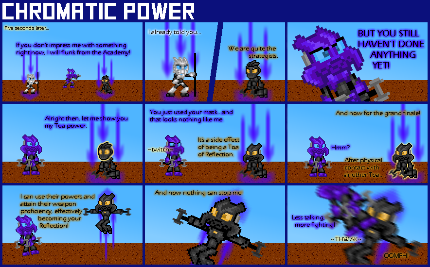 Chromatic Power #004: Reflection by Color17