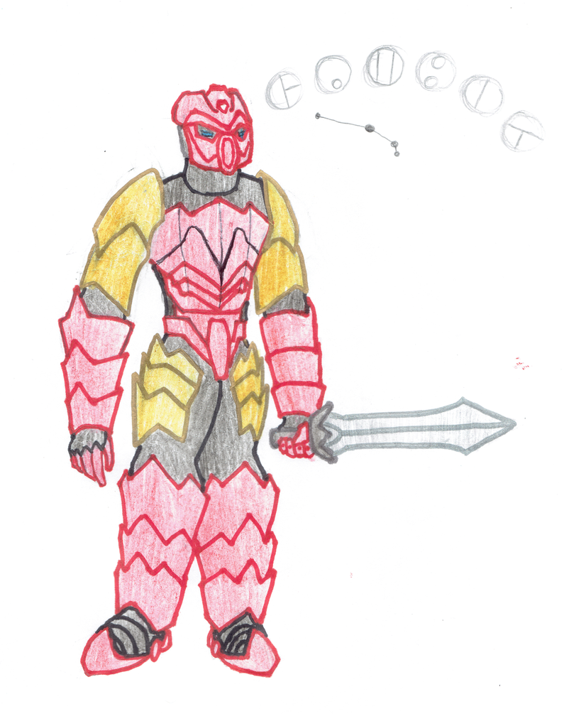 Gambit - Toa of the Constellation Aries by Color17
