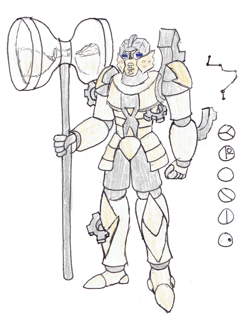 Kronic, Toa of the Constellation Horologium by Color17