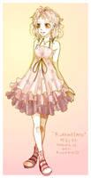 Ruffled Dress by kiwicha