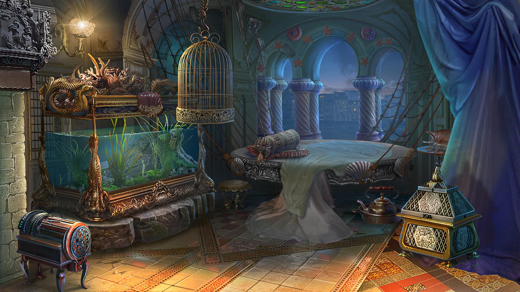 A Fantasy Room By Lemonushka On Deviantart