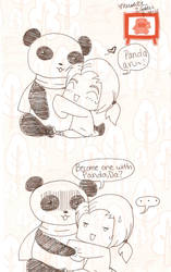 Become one with panda by Goo-bars