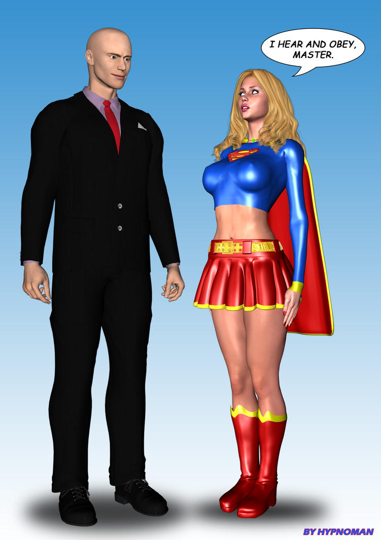 Super-Girl mind controlled by THE-HYPNOMAN