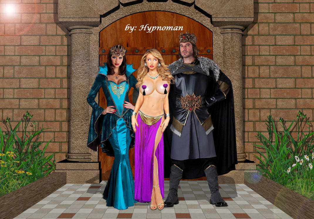 Your princess is our slave-girl_pasties version by THE-HYPNOMAN