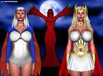 Shera and Sorceress Hypno