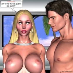 Tatiana Hot paradise' slave_ nude by THE-HYPNOMAN