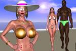 Hot Paradise_Meeting on the beach.