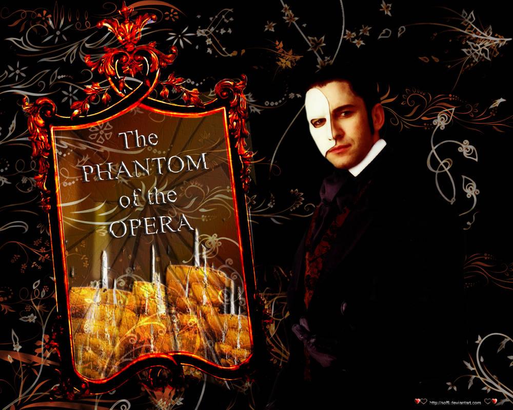 Phantom Of The Opera Wallpaper By Soffl On Deviantart