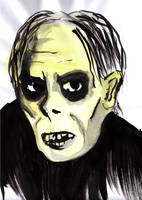 Lon Chaney as the Phantom by soffl