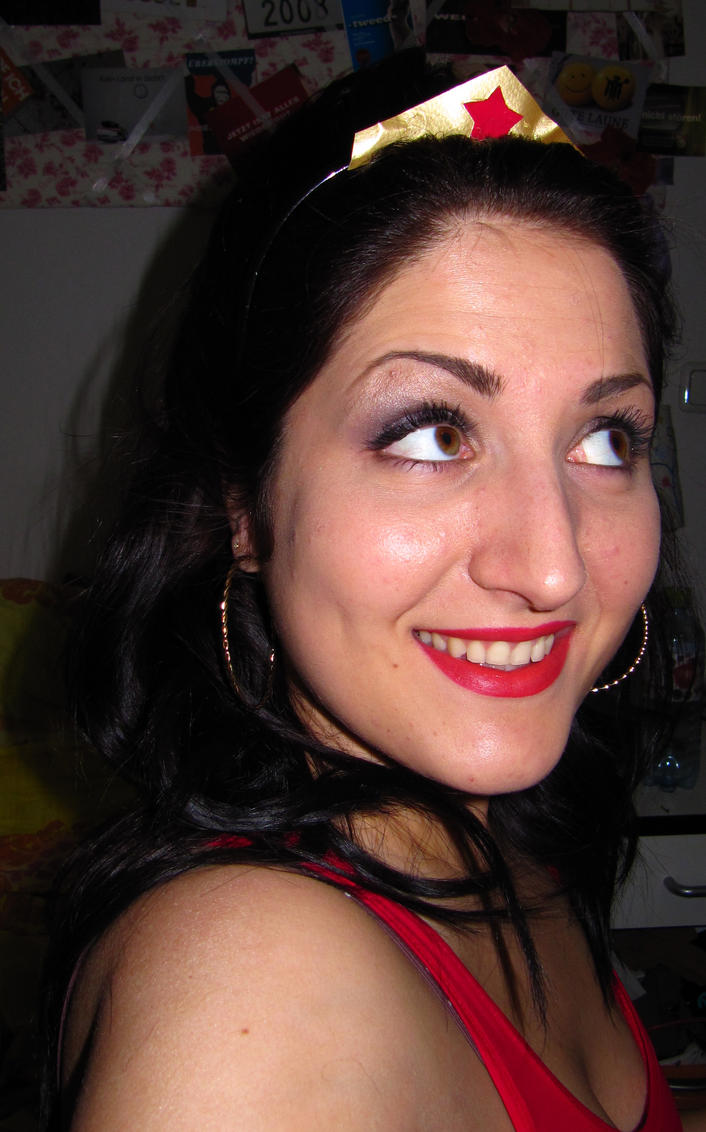 Wonder Woman Makeup by soffl on DeviantArt