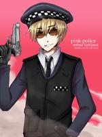 APH-England-Pink Police 10k TY by KaruKaruKira