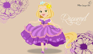 Disney Princess Young ~ Rapunzel by miss-lollyx-33