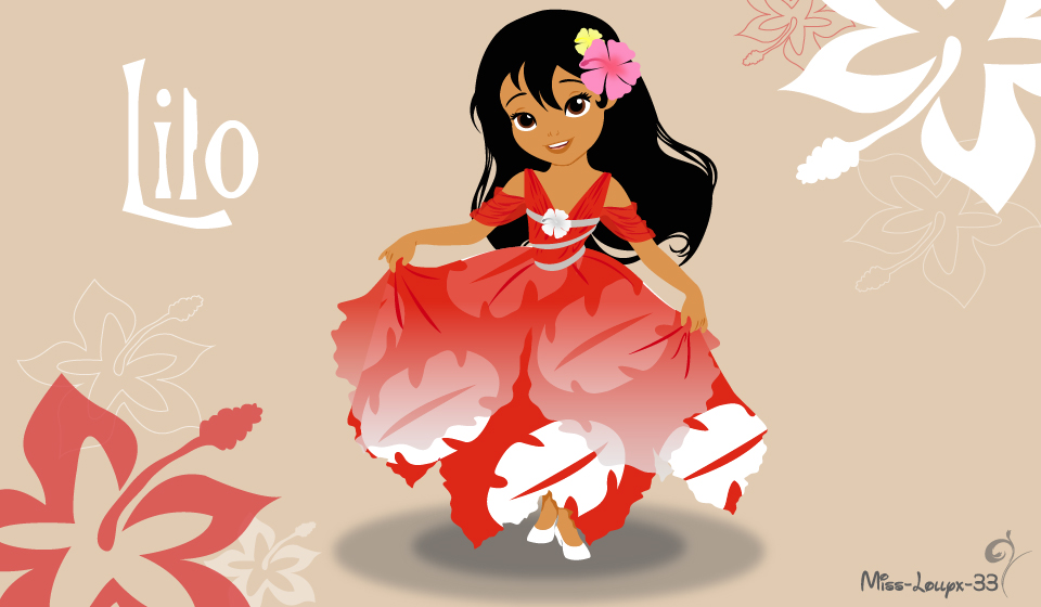 No-Disney Young Princess ~ Lilo by miss-lollyx-33