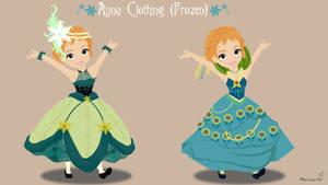 Disney and No-Disney Young Princess ~ Anna