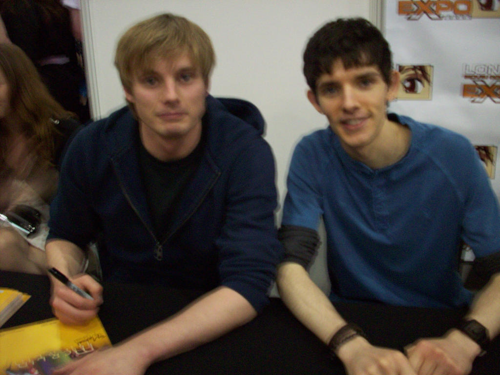 Bradley James + Colin Morgan by Kiira-Chan92 on DeviantArt