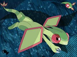 Flygon the Mystic Pokemon