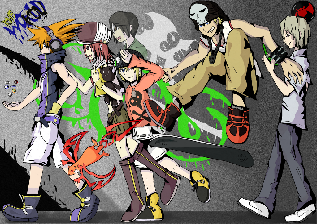 The World Ends With You favourites by anime-mangafan on DeviantArt
