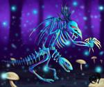 Bone Demon Guy by Kenisu-of-Dragons