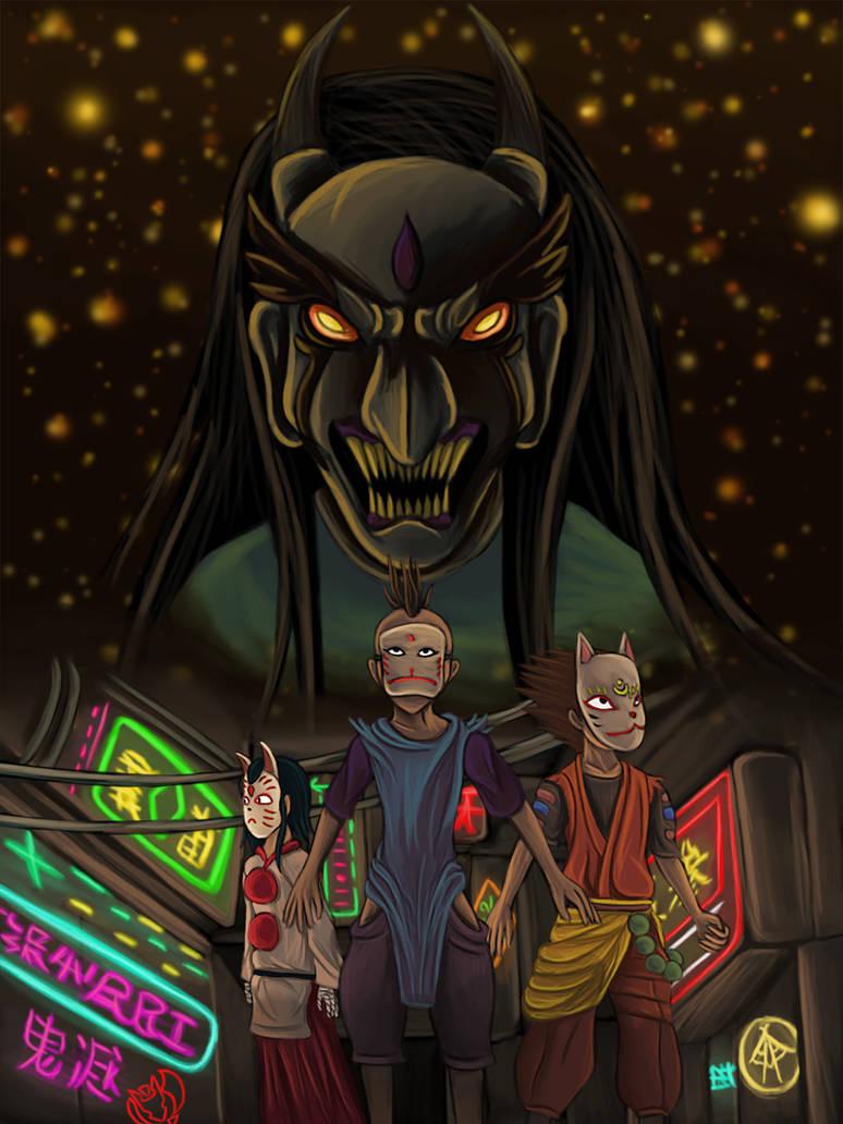 Kakurenbo Hide And Seek By Kenisu Of Dragons On Deviantart