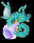 Kingdra Use Twister by Kenisu-of-Dragons