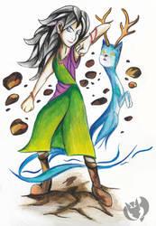 Vera Isoza Mi (Art Trade) by Kenisu-of-Dragons