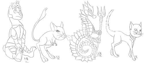 Livestream Sketch Requests by Kenisu-of-Dragons