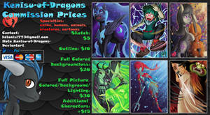 KOD Commission Prices 2018