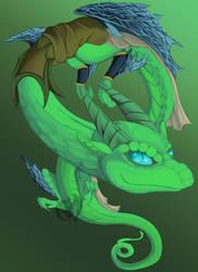 Art Raffle Prize Liatai by Kenisu-of-Dragons