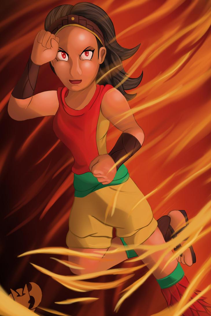 OC: Ayita by Kenisu-of-Dragons