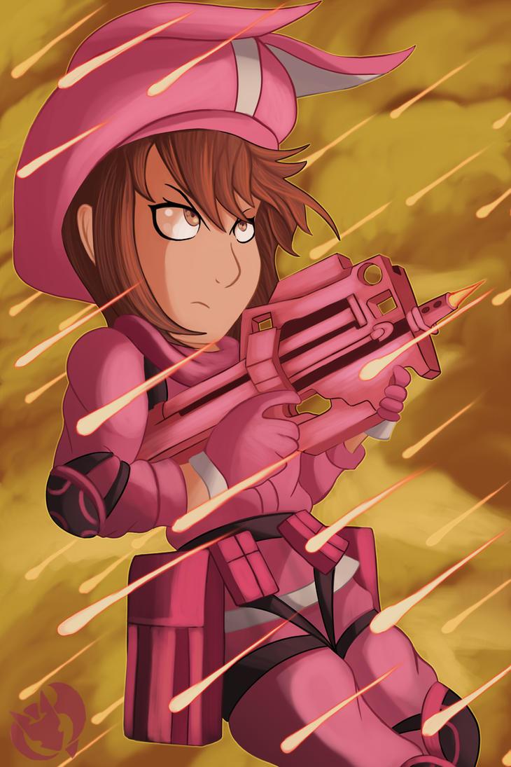 Pink Devil by Kenisu-of-Dragons
