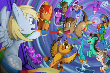 Dr Whooves and Assistant