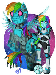 The Rainbow Paladin by Kenisu-of-Dragons