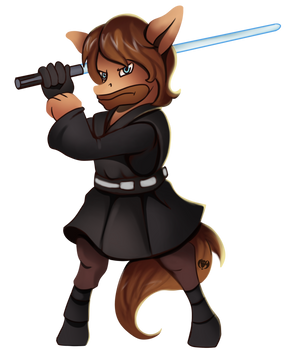 Jack Foley as Anakin (Commission)