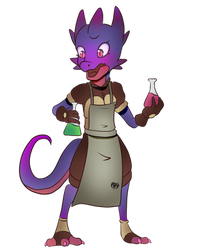 Kobold Alchemist (Commission)