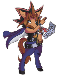 Jack Foley as Yugi (Commission)