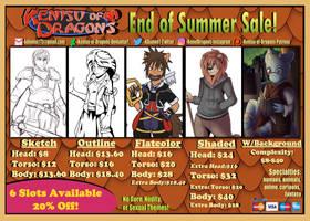 Kenisu-of-Dragons End of Summer Sale 2021