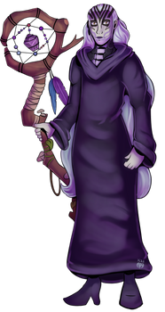 Hel in a Cloak (Commission)