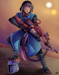 Mulan X Fennec Shand