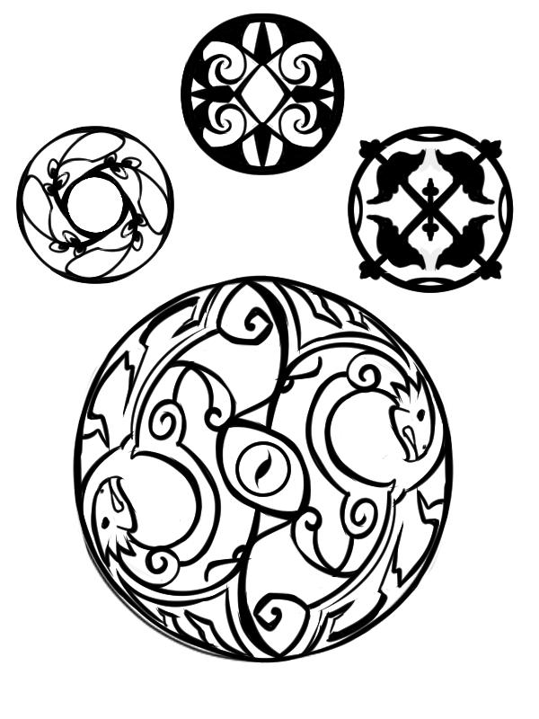 Recherches et projets de bijoux for Dessin ville orientale