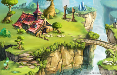 Video game lanscape by uriko33
