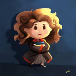Harry Potter fanart - Chibi Hermione