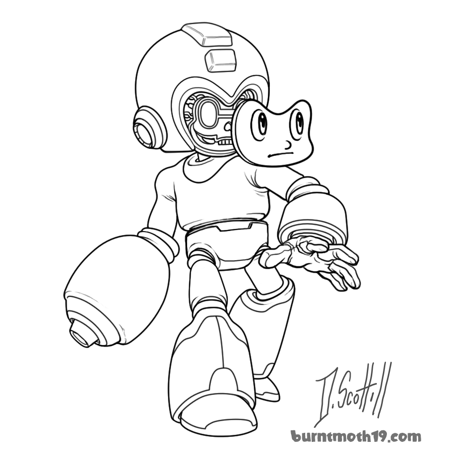 Draw Mega Man Day 2017 by burntmoth19 on DeviantArt