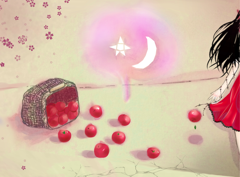 Fallen Apples by White-Lapen