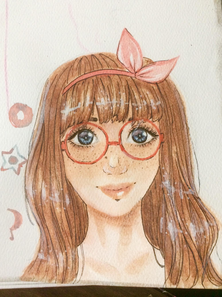 Watercolor Headshot Requests by White-Lapen