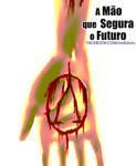 A MAO QUE SEGURA O FUTURO - Mao sangrenta by hirkey