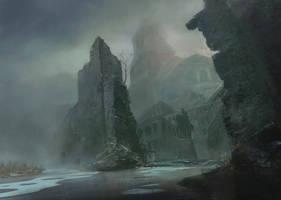 Cursed city by XGhastX