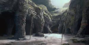 Burial tombs by XGhastX