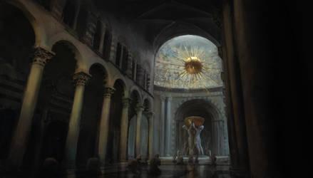 The grand Duomo interior