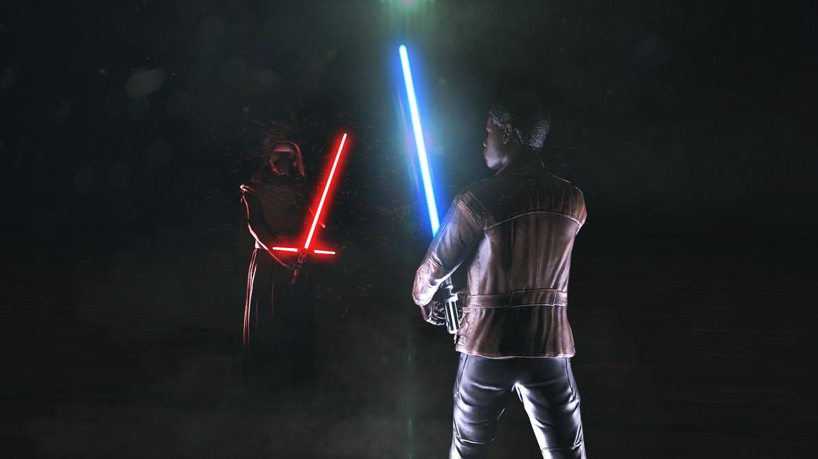 star wars the lightsaber fight by ohdamb on deviantart